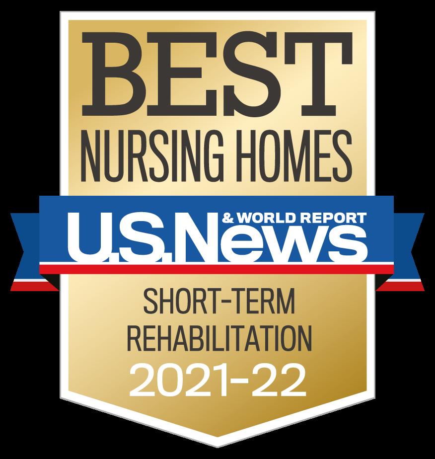 U.S. News & World Report Best Nursing Homes Short-Stay Rehabilitation