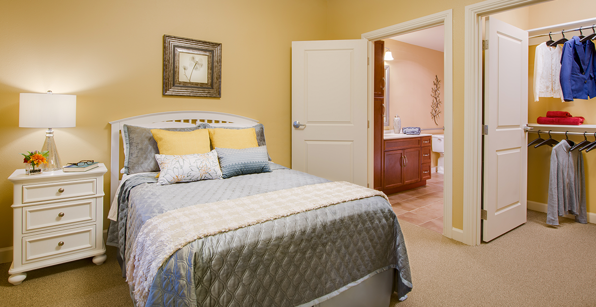 Assisted Living apartment homes available at Tallgrass Creek.